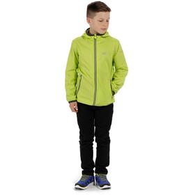 Regatta Lever II Jacket Kids Lime Zest/Seal Grey